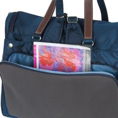 Kanana project 3wayリュックサック ショルダーバッグの後ろポケット