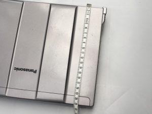 パソコンのサイズの測り方その3